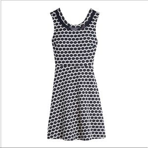 Pixley Brand - Millie Textured Dress, Navy & White